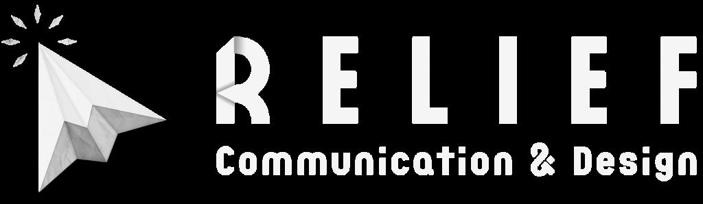logo agence de communication blanc